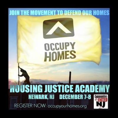 Housing Justice Academy in New Jersey